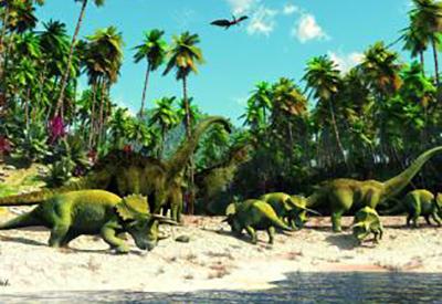 Afbeelding van Living Dinosaurs
