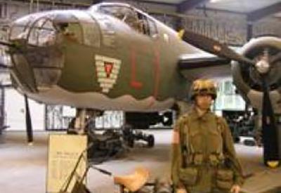 Impressie van Oorlogsmuseum Overloon