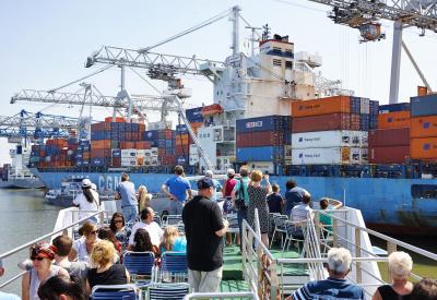 Impressie van Spido Havenrondvaart