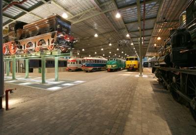 Impressie van Het Spoorwegmuseum