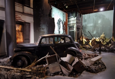 Impressie van Airborne Museum Hartenstein