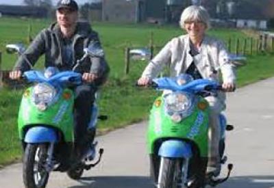 Afbeelding van Electrisch Scooterrijden op de Veluwe
