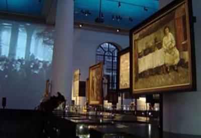 Impressie van Joods Historisch Museum