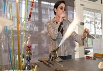 Impressie van Workshop glasblazen