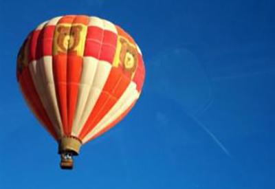 Afbeelding van Ballonvaren Met de wind mee