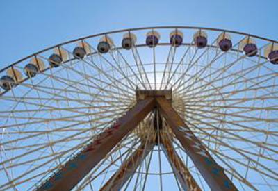 Impressie van Attractiepark Slagharen
