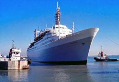 Impressie van SS Rotterdam